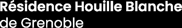 Résidence Houille Blanche de Grenoble
